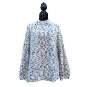 Lou & Grey marled plush multicolor sweater